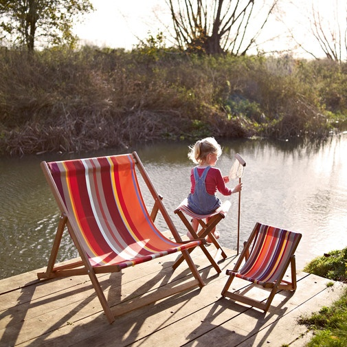 Lovely for a summers day lounging in the garden..