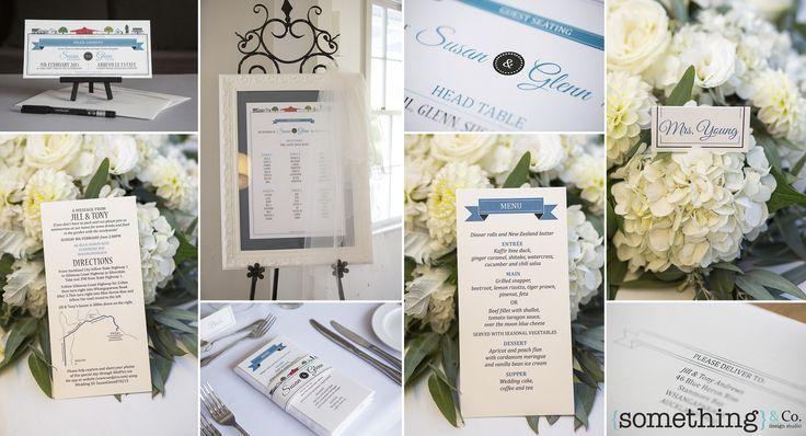 Bespoke Wedding Stationery. Designed by www.somethingandc... Photo by www.sutherlandkovach.com