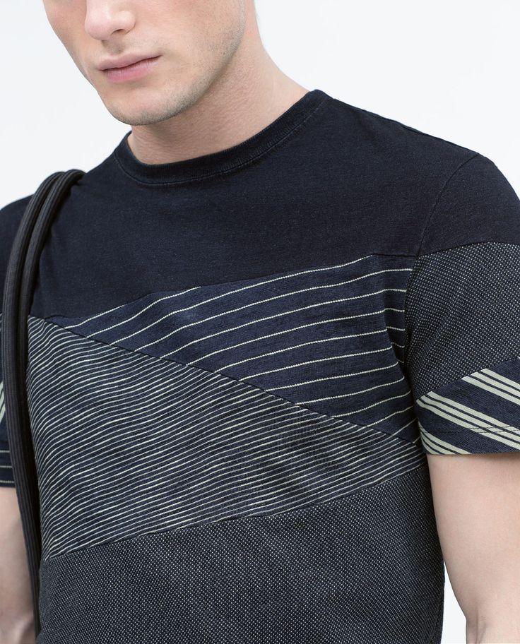 ZARA - NEW THIS WEEK - Seamed T-shirt