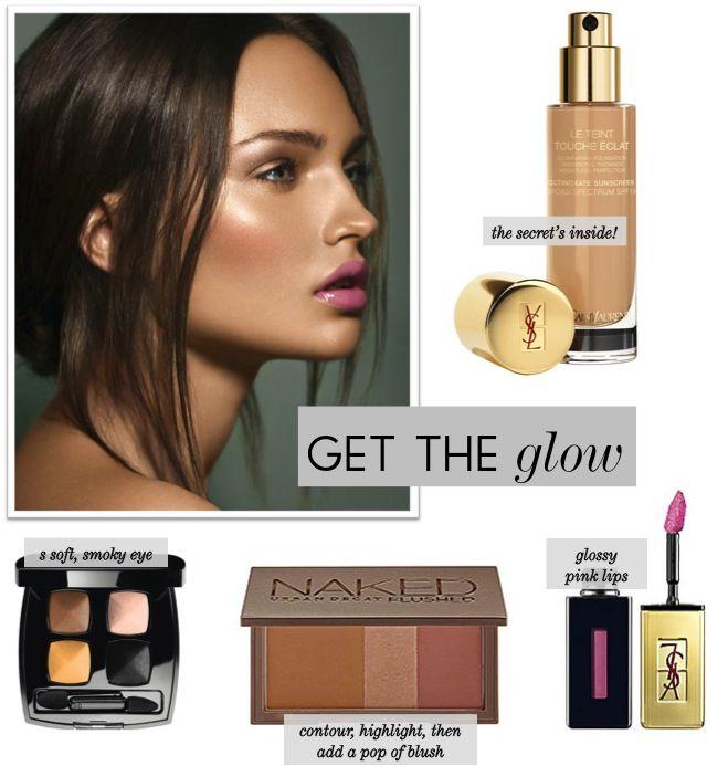 Get The Glow - dewy makeup look