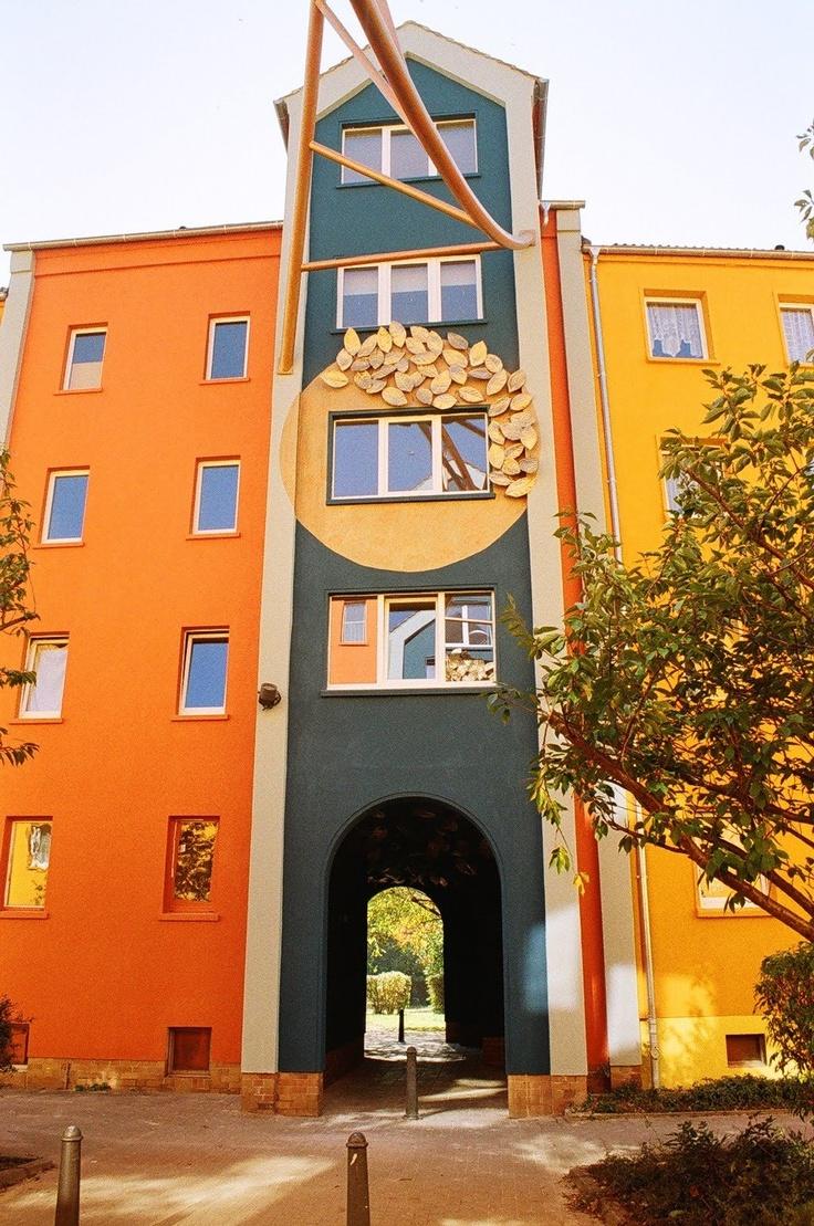 Zittau - Pop Art Viertel Mandauer Glanz