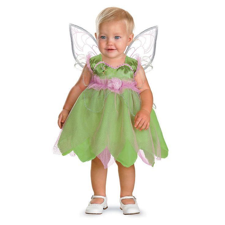 Tinker Bell Costume for Infant Girls - OrientalTrading.com