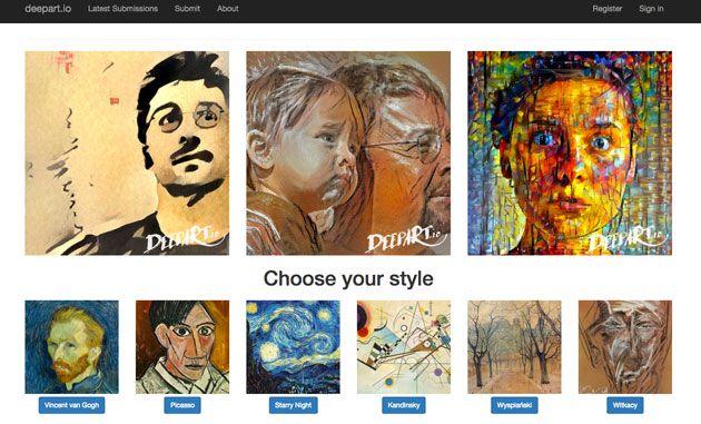 世界的に有名な画家のタッチは、作品を見るだけでどの画家が描いたのか分かるほど特徴的です。今回はそんな有名画家風のタッチに画像加工できるサイト「deepart.io」を紹介したいと思います。