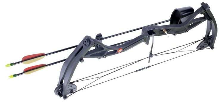 """A GREAT BOW FROM CROSMAN. SUITABLE FOR BOTH ADULT AND YOUTHS. HANDLING VERY NICELY THE WILDHORN IS CAPABLE OF 29LBS OF ADJUSTABLE DRAW WEIGHT. SUPER LIGHT WEIGHT CONSTRUCTION OF ONLY 1.5LBS. COMES COMPLETE AS A KIT WHICH INCLUDES:- 2 X 26"""" FIBREGLASS ARROWS TWO PIECE QUIVER FINGER TAB ARM GUARD ARROW REST ADJUSTABLE PIN SIGHT SPEC: DRAW WEIGHT - 29LB ADJUSTABLE DRAW LENGTH - 15-29"""" AXLE TO AXLE: 27.5"""" BRACE HEIGHT: 6.5"""" BOW WEIGHT: 1.5LB. 