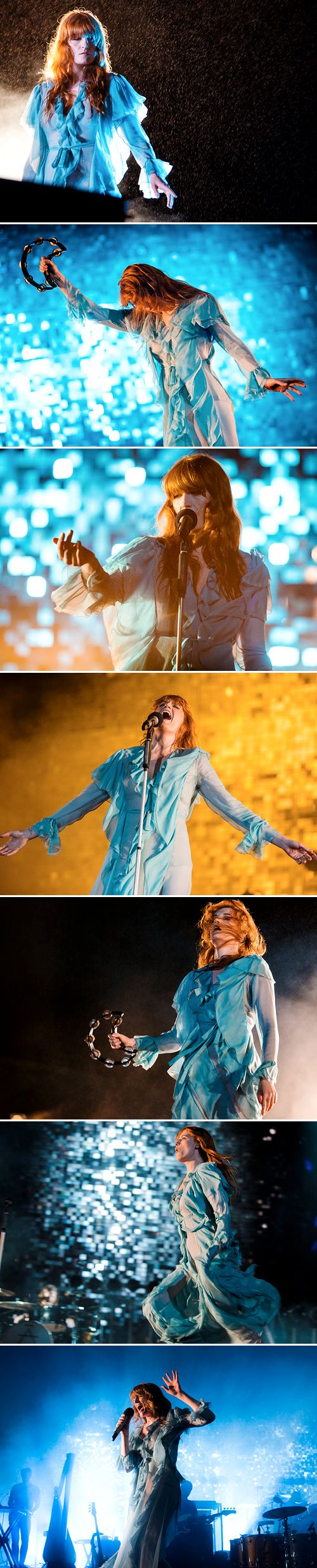 Florence and The Machine at the 2016 Lollapalooza Brazil on March 13, 2016.
