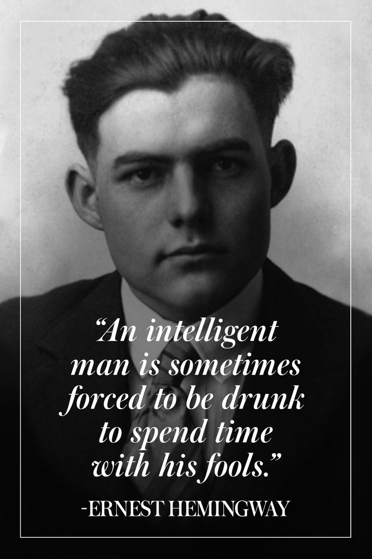 ernest hemingway quotes on writing It was 1922, and a 23-year-old ernest hemingway had just experienced one of the most devastating blows to his writing career a blow so devastating that he did not think he could ever write fiction again.