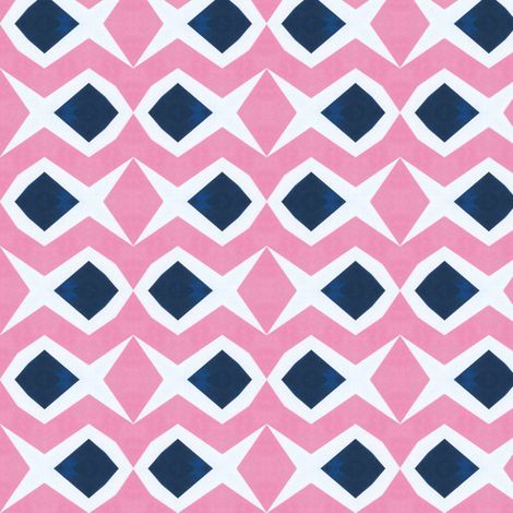 Retro Fish fabric by stoflab on Spoonflower - custom fabric