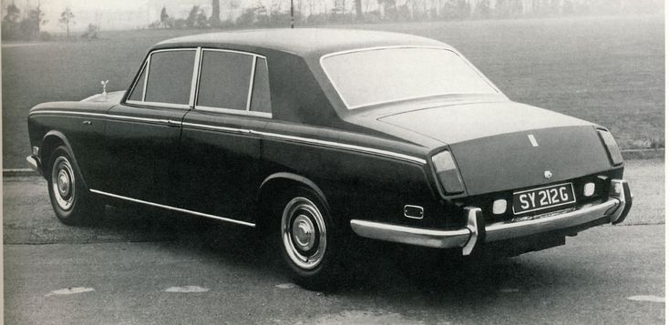Rolls Royce Silver Shadow prototype