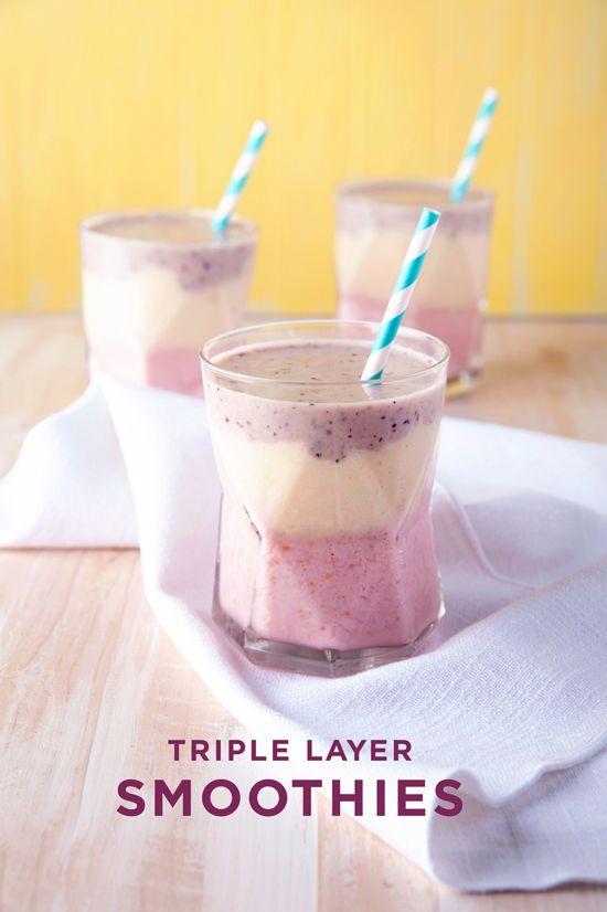 triple layer smoothie   designlovefest