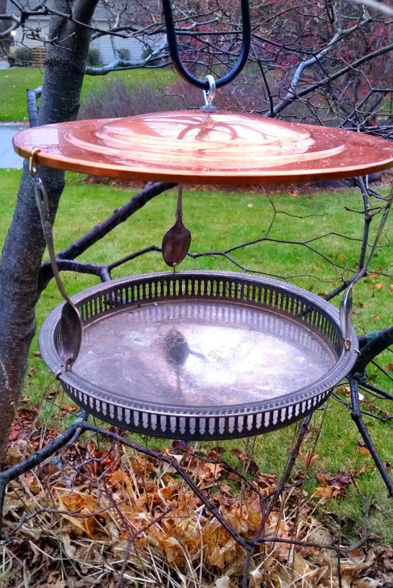16 best bird feeders images on pinterest bird feeders for Making a bird feeder out of recycled materials