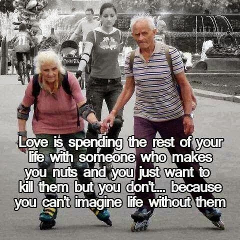 Quotes and Sayings: Love Is Spending The Rest Of Your Life With Someon...