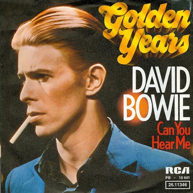 1975 - David Bowie - Golden Years -  by Affendaddy, via Flickr