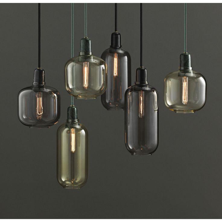 Amp pendel fra Normann Copenhagen, designet av Simon Legard. Denne lampen er inspirert av gamle r...