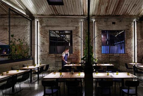 Situated in a former electrical transformer factory, Transformer Fitzroy by Breathe Architecture embraces the layers of the building's character from the past.
