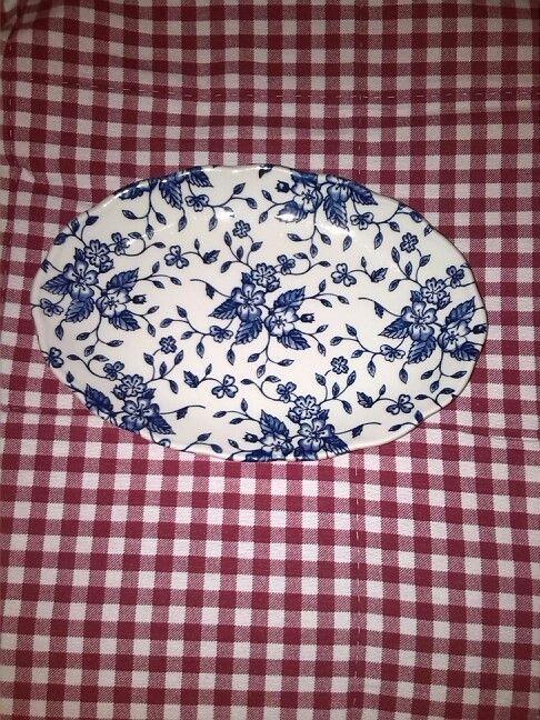Royal Tudor Grindley Bouquet Blue zuurschaaltje
