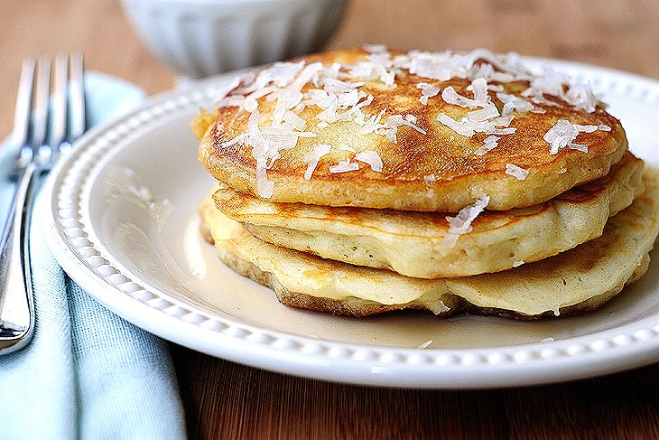Coconut Pancakes | Recipe