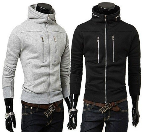 High-zip hoodies are sick.. and hard to find