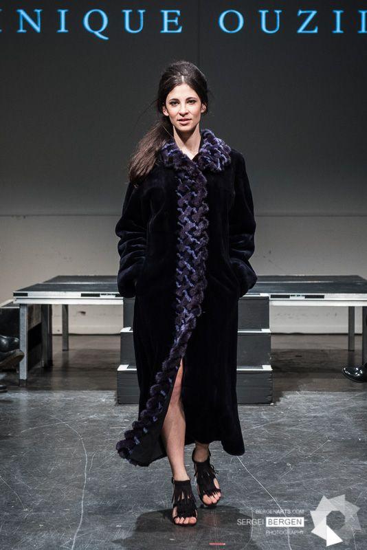 Recycled fur coat Designer: Dominique Ouzilleau Photographer: Seirgei Bergen Model: Camille Dubois-Chalifoux