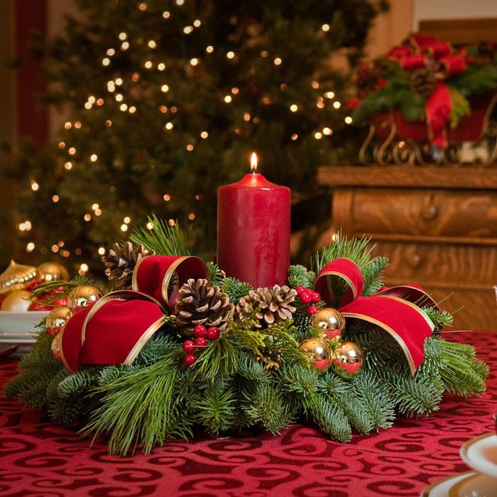 Stunning Indoor Christmas Candle Inspirations For Christmas Table | Easyday