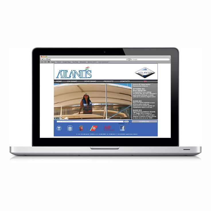 Project: Website of nautical products