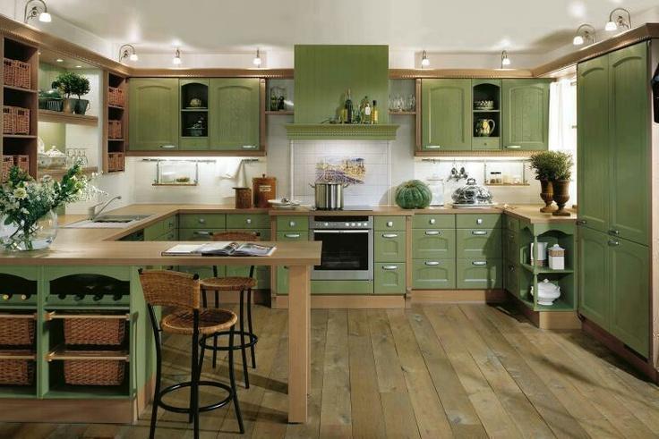 pin by cheryl ann hall on kitchens green kitchen interior green kitchen cabinets green on kitchen interior green id=55819