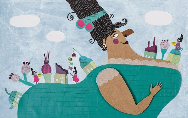 """Cuando sea grande"" / ""When I grow up"" ~ Gabriela Burin Ilustraciones"