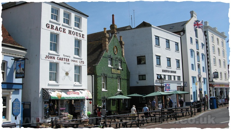 Just love the old pubs and the hustle bustle on Poole Quay.