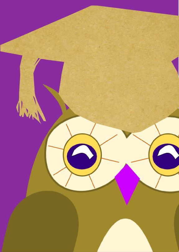 FREE printable owl cards – graduation | MeinLilaPark