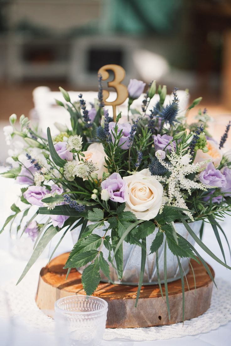 Lilac Floral Centrepieces | Chic Southern Spain Wedding at Casa Rosa | Planned & Styled by Rachel Rose Weddings | Radka Horvath Photography | http://www.rockmywedding.co.uk/claire-lenny/