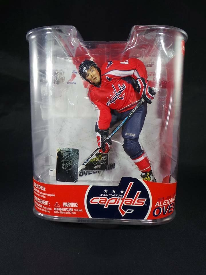 best sneakers 97d91 1ba0a MCFARLANE SERIES 17 ALEXANDER OVECHKIN CAPITALS FIGURE RED ...