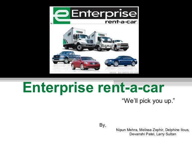 enterprise rent a car blueprint A federal judge on monday denied a bid for discovery sanctions against enterprise rent-a-car co of rhode island in a 5 google pay equity case may be blueprint.