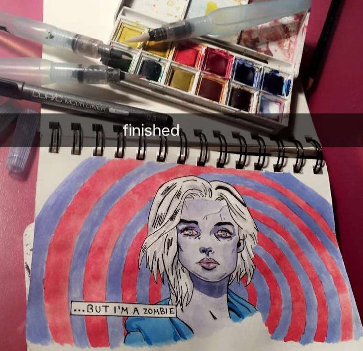 I painted by myself✍🏼 Liv Moore from iZombie