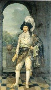 Ritratto del conte Renato II Borromeo (1613-1685) - Protasio Girolamo Stambucchi (1757-1833). Olio su tela, 1819. Sala Bianca dell'Almo Collegio Borromeo, Pavia.