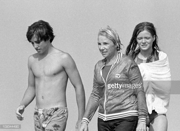 sargent shriver and ethel | Michael Kennedy Ethel Kennedy and a friend sighted on August 31 1980 ...
