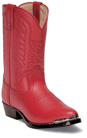 Durango Kid's Red Western Boots  http://www.onlinebootstore.com/great-boots/items/BT755.html