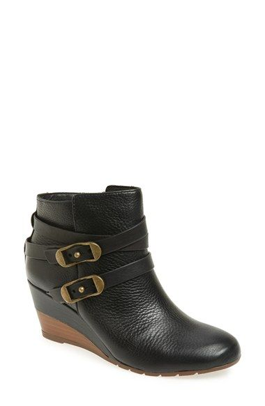 Free shipping and returns on Söfft 'Oakes' Wedge Bootie (Women) at  Nordstrom · Black Cowgirl BootsBlack ...