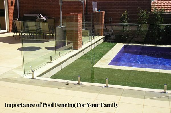 Pool fencing should be simple and unobtrusive whilst boundary and front fencing should be stylish and decorative.