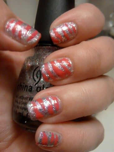 Tiger Stripes - Nail Art Gallery by NAILS Magazine