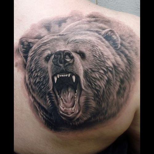 Bear Tattoo Meanings | iTattooDesigns.com    Bears have been long associated with Native Americans, who regarded these animals as great warriors, displaying incredible Strength, Bravery, and Power in the face of opposition.