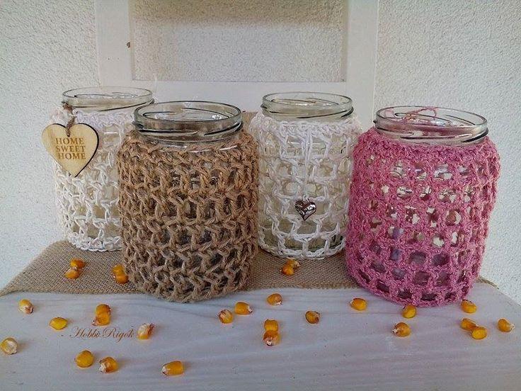 Crumpled bottles vinatge dressed up