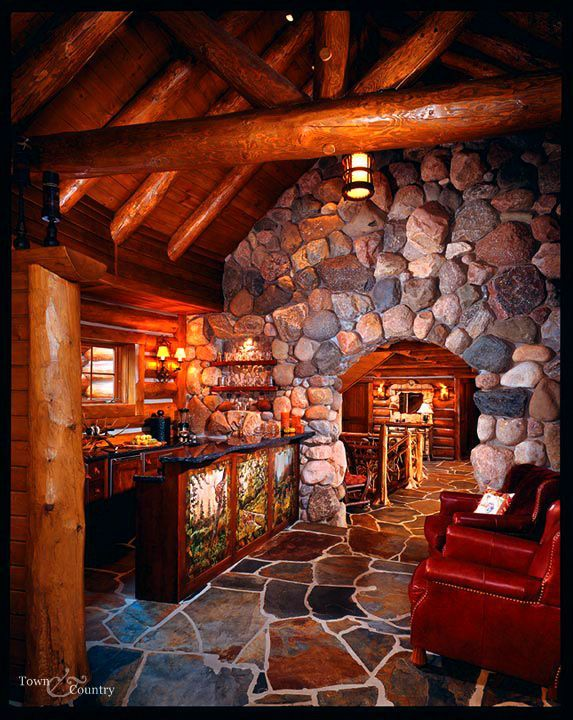 25 best stone archway ideas on pinterest moon gate for Stone log cabin