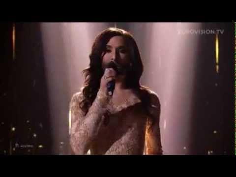 ▶ Eurovision'un galibi Avusturya oldu - YouTube