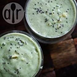 Green Smoothie mit Gurke, Chia, Ingwer und Banane @ de.allrecipes.com