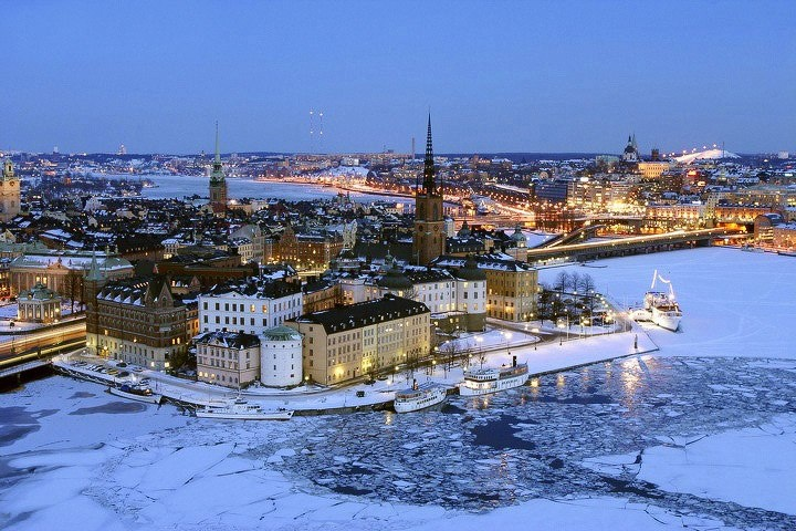 stockholm in the snow - photo #34