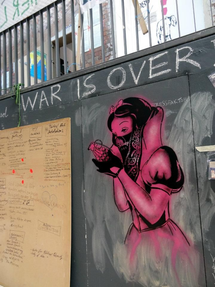 Saw some of his graffiti around! nice  By Goin in Bristol, England