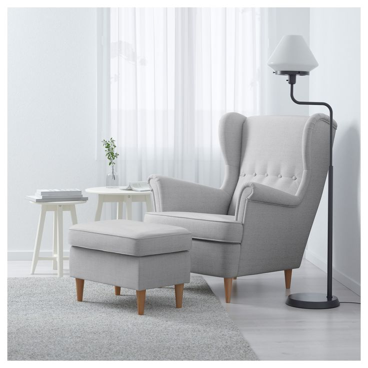 IKEA STRANDMON wing chair 10 year guarantee. Read about the terms in the guarantee brochure.