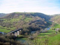 Monsal Head and Cressbrook. Walk along Monsal Dale and then back up to Monsal Head for a drink with your dog at the Stables Bar.