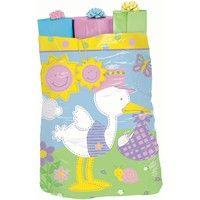 Wish | Giant Gift Bag - Huge Plastic Gift Sack for Baby Shower - 1 per Package