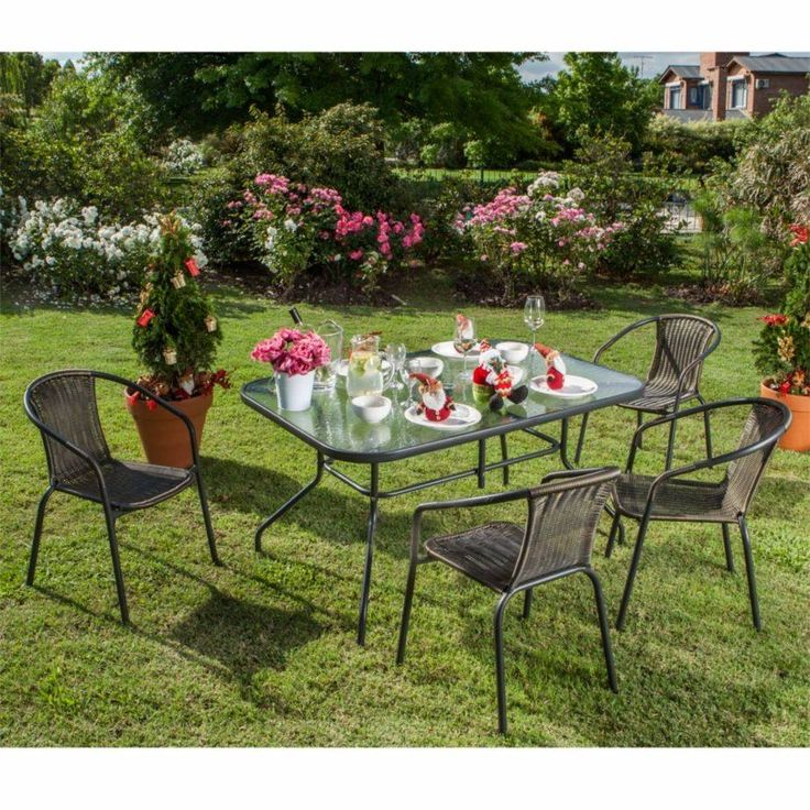 22 best mesas y sillas de patio jard n y pileta images on for Ofertas de mesas y sillas de jardin