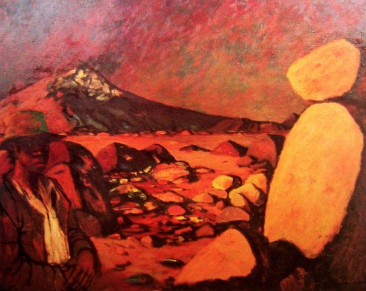 Broken Mountain George Russell Drysdale (1912-81) Australia